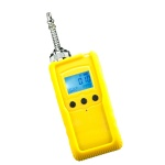Portable carbon dioxide gas detector